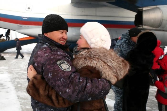Якутские полицейские показали профессионализм иответственность впроцессе служебной командировки