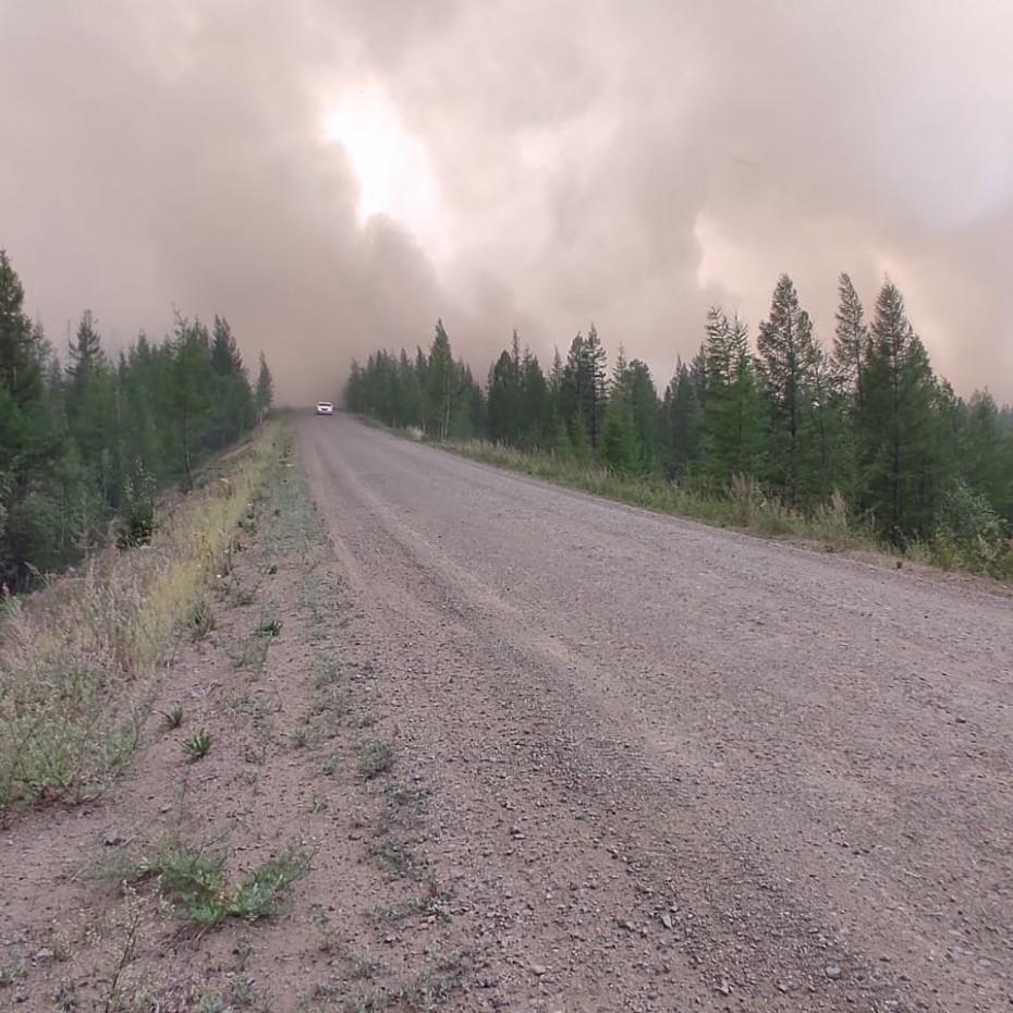 222 лесных пожара действуют в Якутии