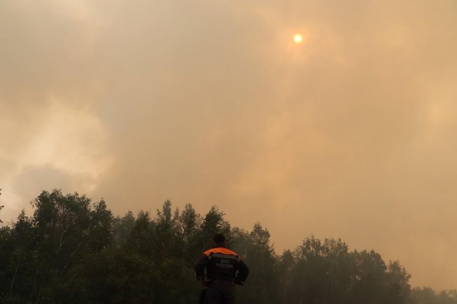 178 лесных пожаров действует в Якутии