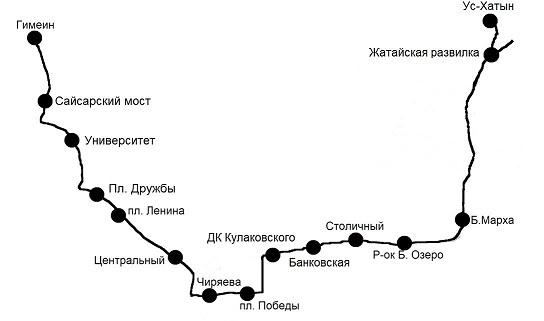 fVTSxx7J До местности «Ус-Хатын» будут курсировать два автобуса №155 и 156
