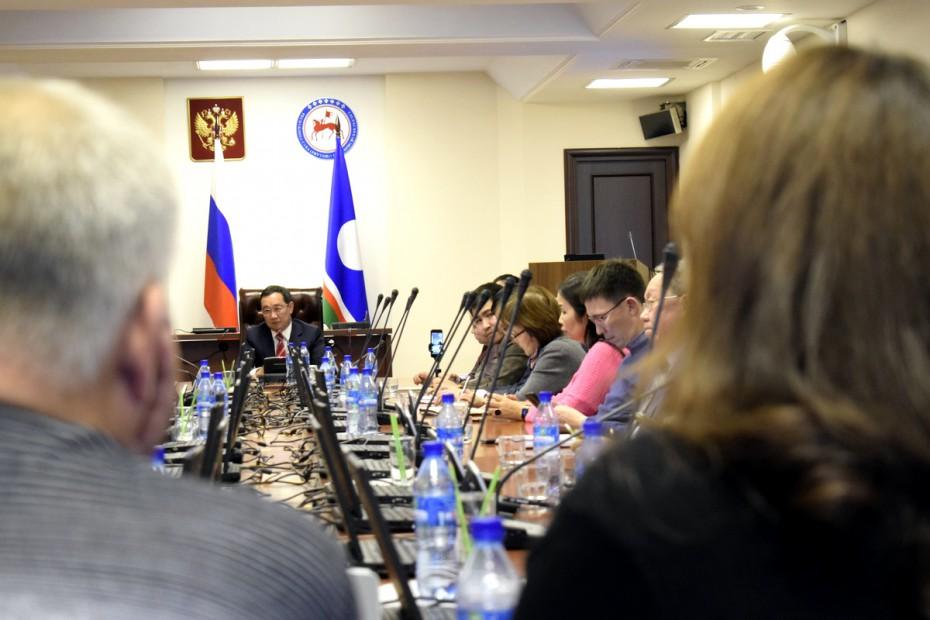 Айсен Николаев: будем бороться с коррупцией и неэффективными госпредприятиями